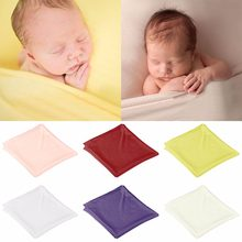 Nosii Infant Newborn Baby Kids Soft Cotton Swaddle Sleeping Bassinet Wrap Photography Prop Blanket(China)