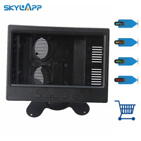 7 Skylarpu Preto polegada case Plástico para AT070TN90 AT070TN90 AT070TN93 (sem LCD e toque) Frete grátis|touch 7|7 inch touch|lcd 7 -
