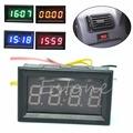 J34 Hot Sale Motorcycle Accessory Car 12V/24V Dashboard LED Display Digital Clock