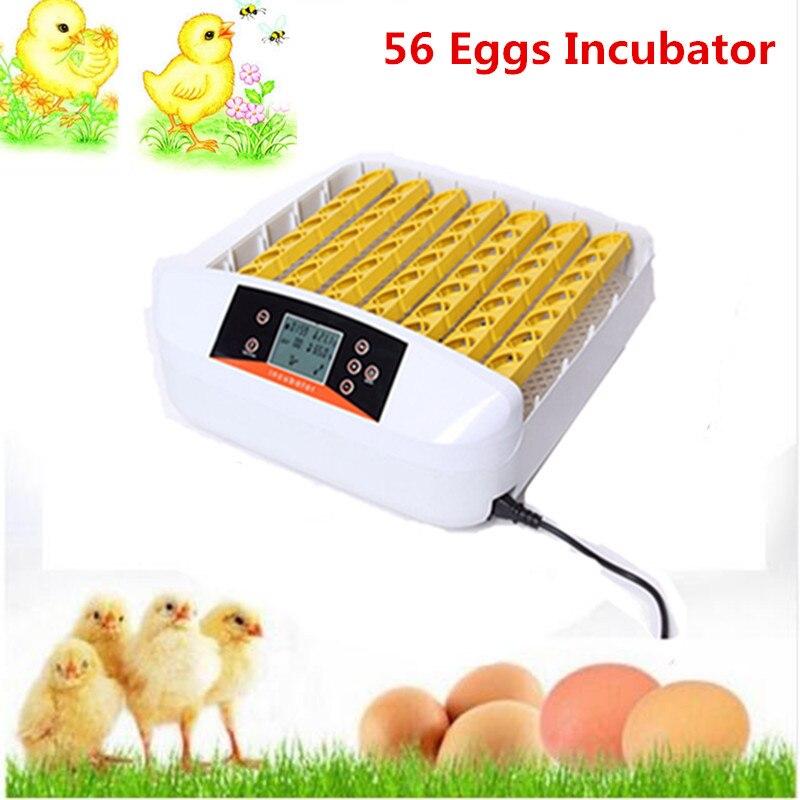 Farm Use Hatchery Machine 56 eggs cheap price for chicken quail duck eggs mini incubator hatching incubator prices duck farm повседневные шорты