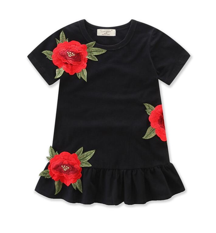 Originele Kinderkleding.Meisjes Jurken Originele Ontwerp Leuke Katoen Lente En Zomer