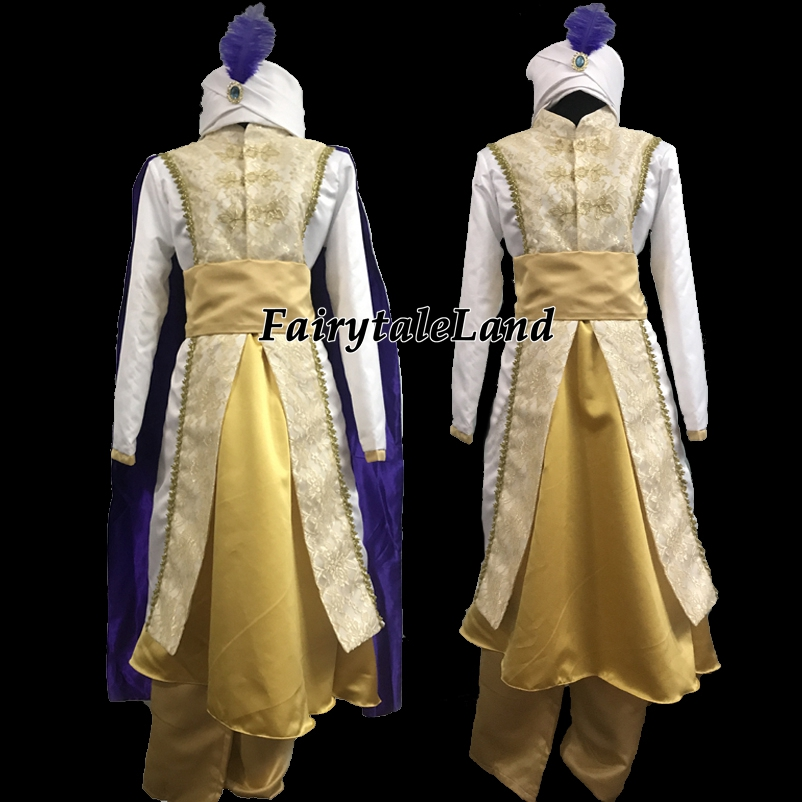 Aladdin and the Magic Lamp Aladdin Cosplay Costume Halloween Costumes for Adult Jasmine Aladdin Costume suit