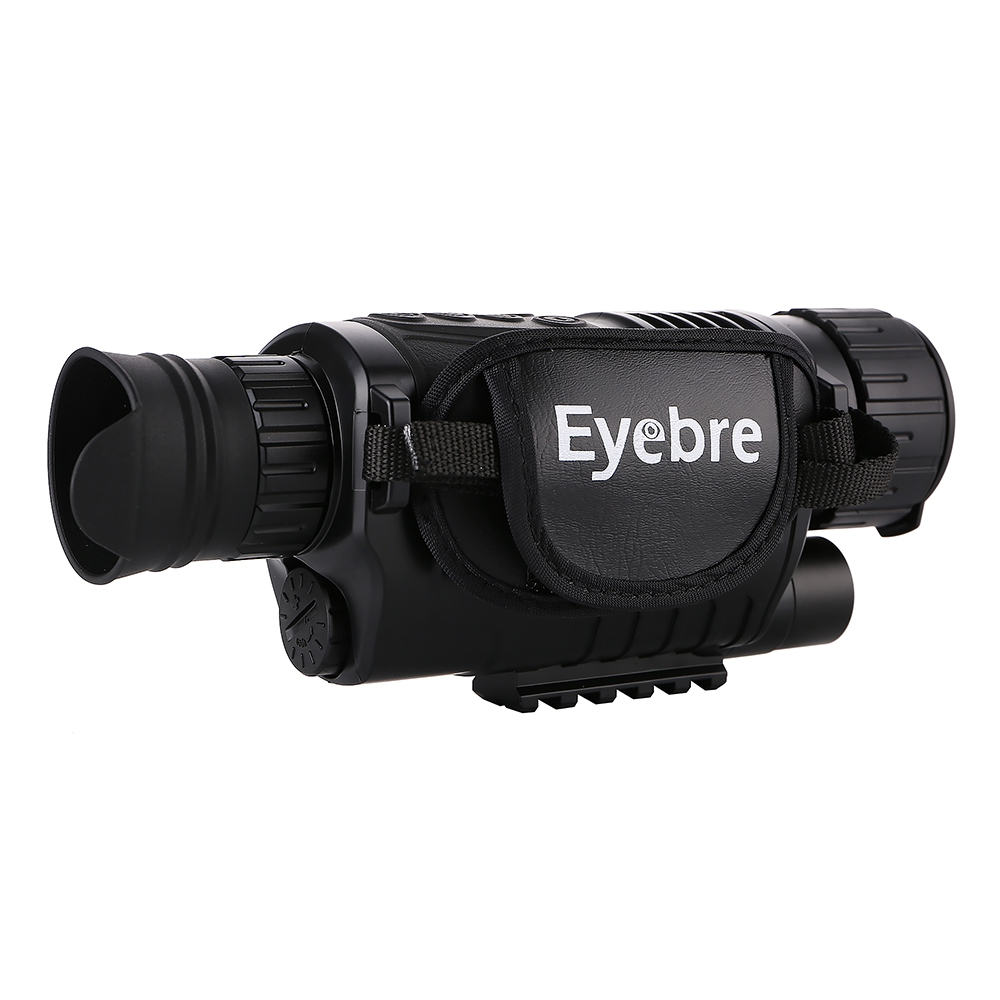 Eyebre 5 x 40 Infrared Digital Night Vision Monocular Telescope High Magnification with Video Output Function Adjustable Focus eyebre tdc 10 x 25mm binocular water resistant telescope