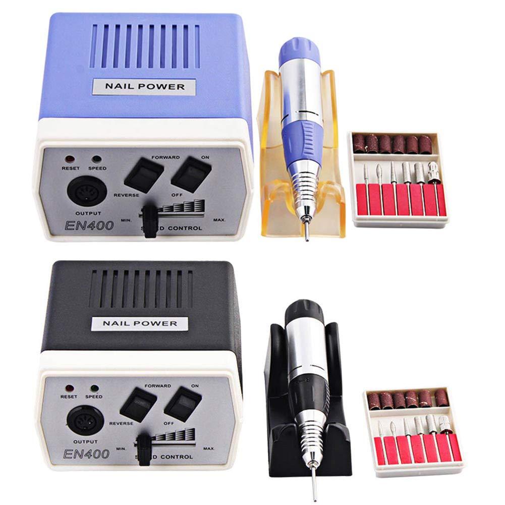Высокое качество Электрический ногтей Книги по искусству машина комплект 30000 об./мин. файл Bits набор инструментов для маникюра и педикюра