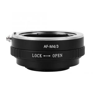 Image 1 - Metal Manual Lens Adapter Ring for Minolta AF Lens to Fit for M4/3 Mount Camera for Olympus E P1 E P2 for  G1 GF1 Lens