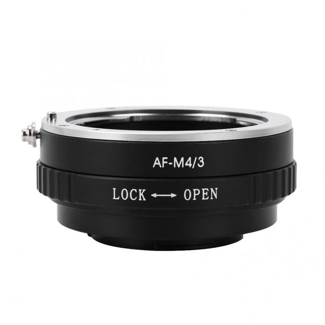 Metal Manual Lens Adapter Ring for Minolta AF Lens to Fit for M4/3 Mount Camera for Olympus E P1 E P2 for  G1 GF1 Lens