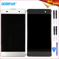 Black White High Quality For Sony Xperia XA F3111 LCD Display Digitizer Touch Screen Full Assembly