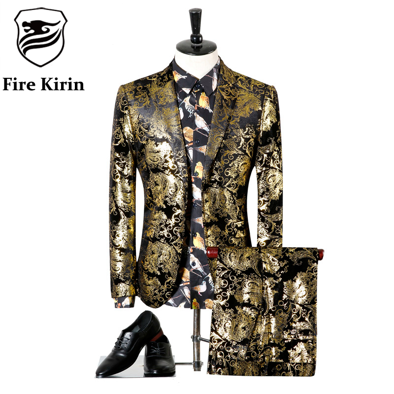 Popular Black Gold Tuxedo-Buy Cheap Black Gold Tuxedo lots from ...