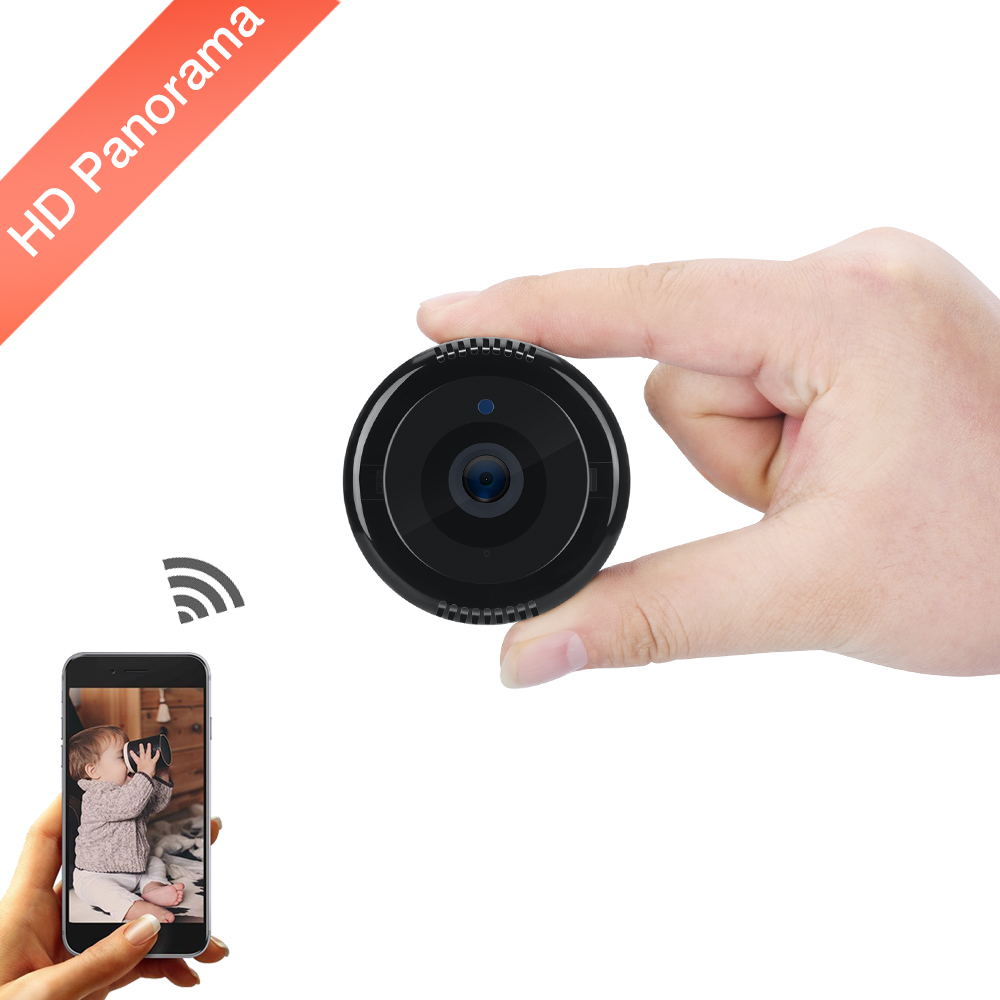 Fisheye IP Camera 720P HD 180 Degree WiFi Camera Network Panoramic Camera 180 CCTV Home IP Security Baby Video Surveillance Came