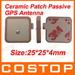 Embedded internal Ceramic Patch passive Gps Antenna 25mm*25mm*4mm QT25
