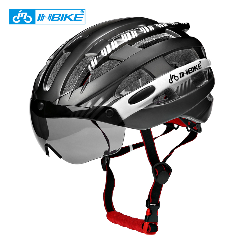 INBIKE Cycling Helmet Ultralight Bike Helmet Men Mountain Road Women Bicycle Helmet