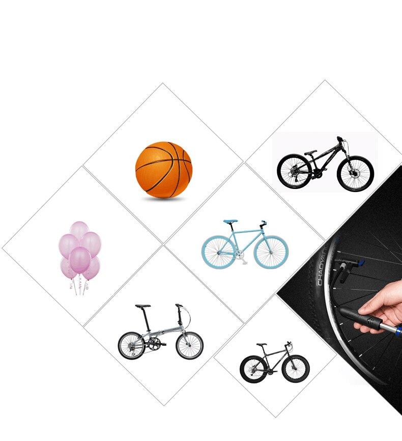 Мини-насос велосипеда Велосипедные насосы бомба Bicicleta Велоспорт велосипед воздушный насос Presta Шрейдер Клапан насос для велосипеда бомба-де-ar Bicicleta