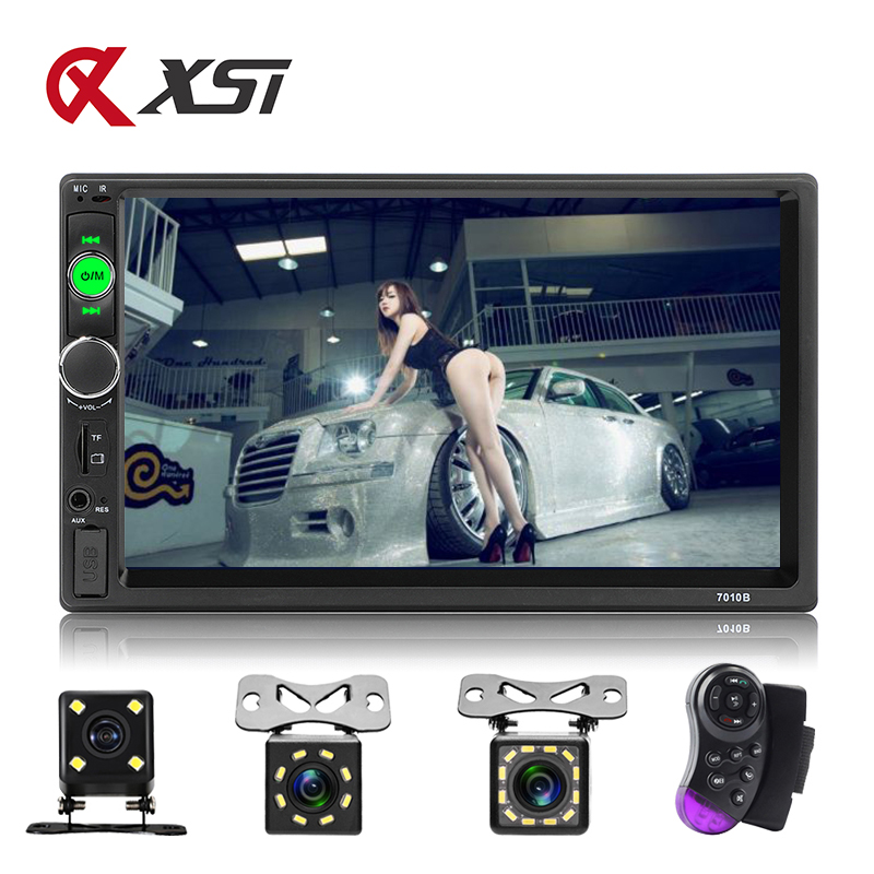 XST Car Audio Player Bluetooth Stereo FM Radio Car MP5 <font><b>7010B</b></font> SD AUX USB 5V Charger Auto Electronics Subwoofer <font><b>2</b></font> <font><b>Din</b></font> Autoradio image