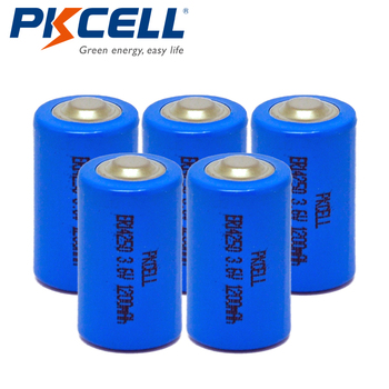 5Pcs*PKCELL 1/2AA Battery  14250 3.6V ER14250 1200Mah 1/2 AA LS 14250  Lithium Battery Batteries