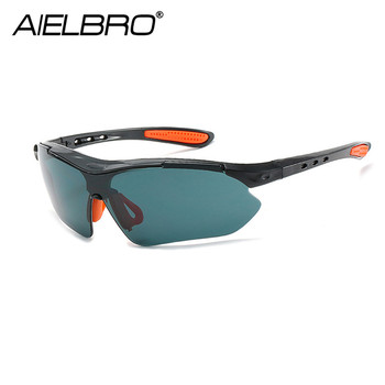 AIELBRO Cycling Sunglasses Bike Glasses Eyewear Windproof MTB Road Bicycle Goggles WomenMen Outdoor Sports uv400 cycling glasses цена 2017