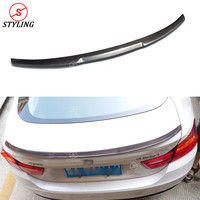 For BMW F36 Carbon Spoiler M4 Style Sedan 4 Series F36 420i 428i 435i Carbon Fiber rear spoiler Rear trunk wing styling 2014 UP