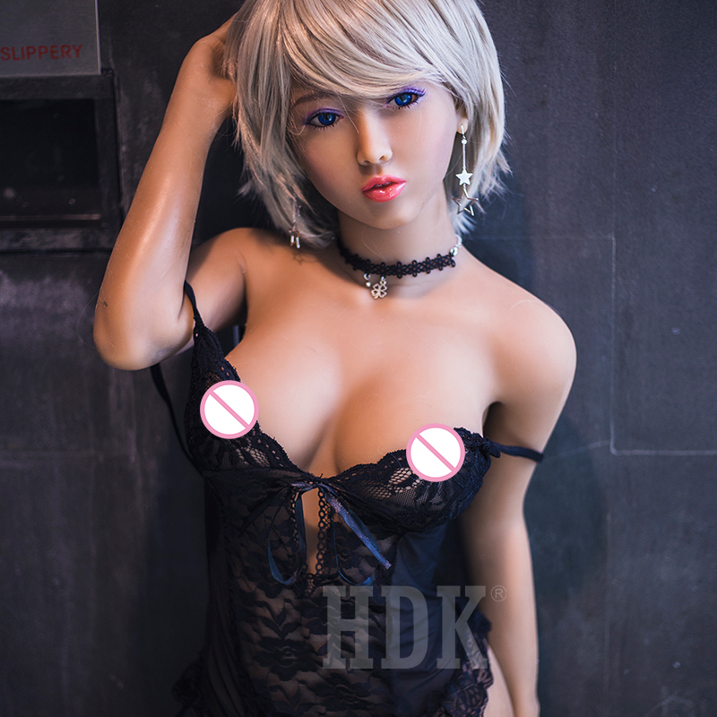 HDK 148cm (4.86 ft) Solid Silicone Sex Dolls Lifelike Real Vagina Full Size Sex Doll Head Sex Robot Dolls For Adult MenHDK 148cm (4.86 ft) Solid Silicone Sex Dolls Lifelike Real Vagina Full Size Sex Doll Head Sex Robot Dolls For Adult Men