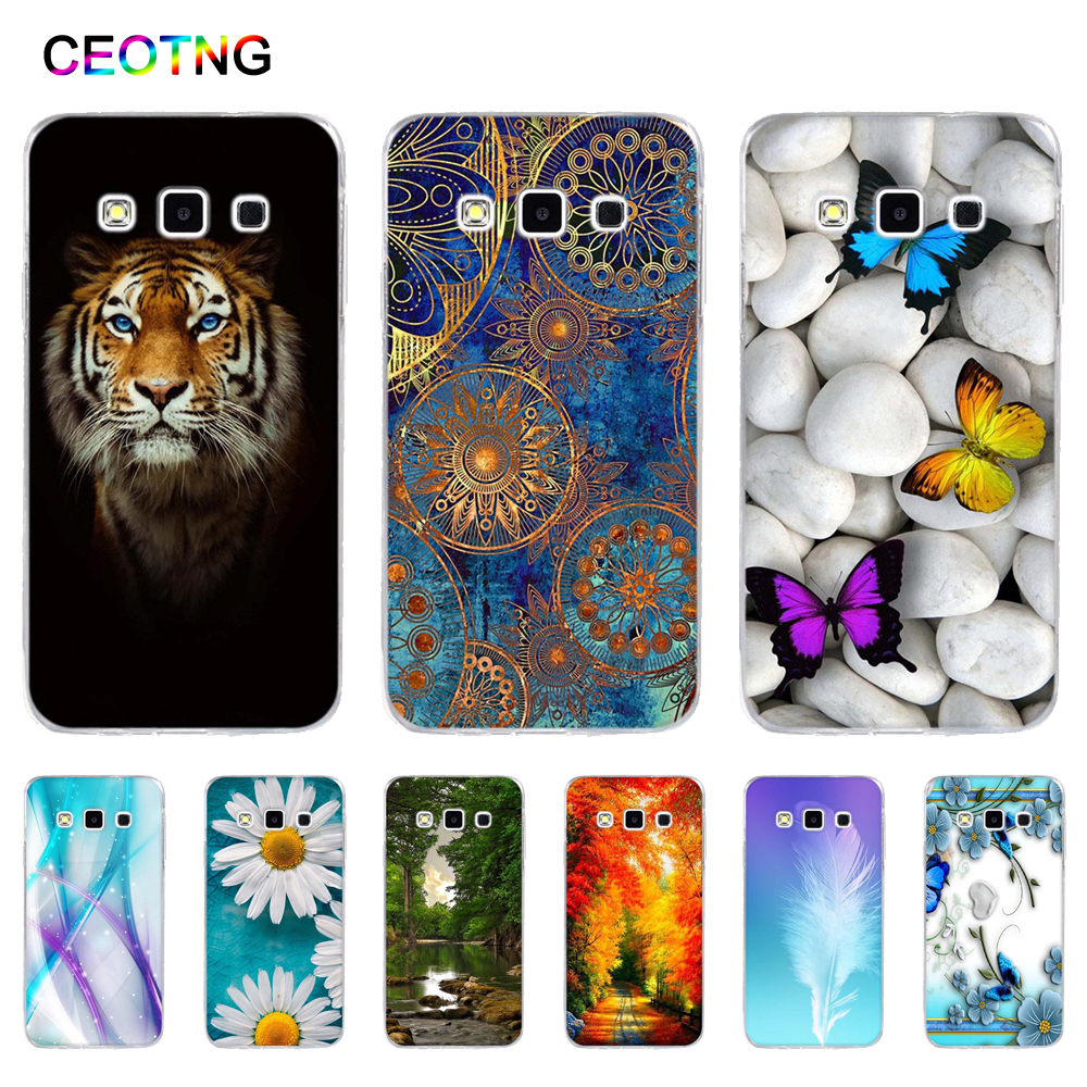 TPU Cover for Samsung Galaxy A3 2015 A300 Silicone Back Print Phone Case for Samsung Galaxy A 3 2015 a300f Painted Shells Bags image