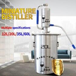Destilador de 20 L, destilador de licor, destilador de vodka, compuesto por accesorios para la elaboración de cerveza