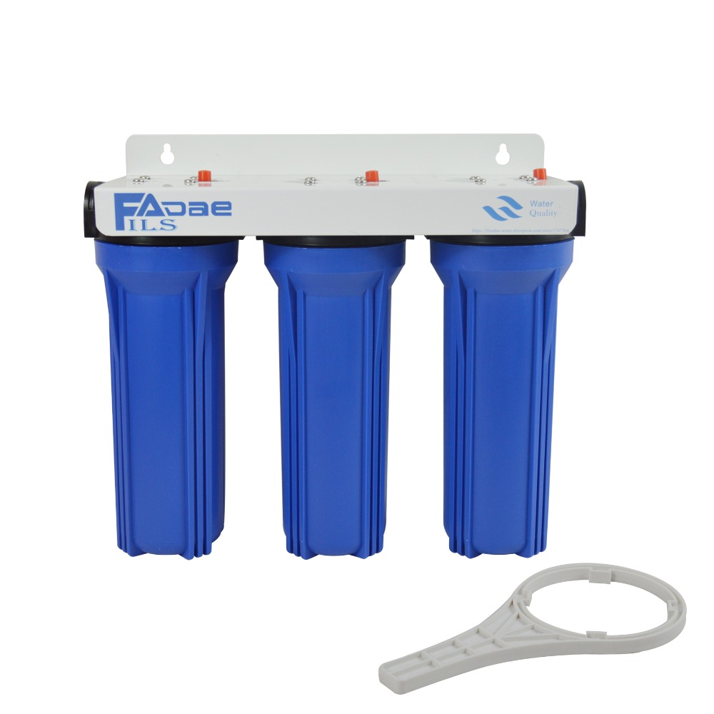 цены 3-Stage Filtration System Blue 3/4