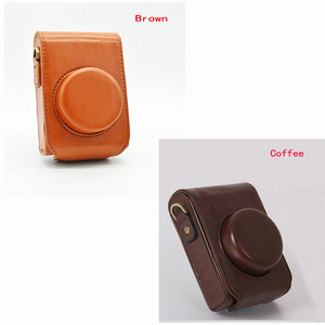 Image 2 - PU leather case Camera Bag Cover for Panasonic Lumix LX7 LX5 LX3 LX10 LX15 shoulder bag