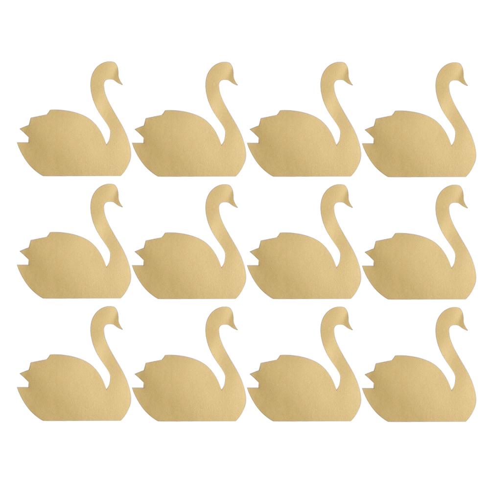 12pcs Swan/Sheet DIY Funny Little Cute Swan Stickers Living Bedroom ...