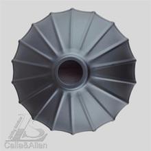 Винтажный абажур E27 железная черная клетка абажур DIY черный железный антикварный абажур для осветительных аксессуаров