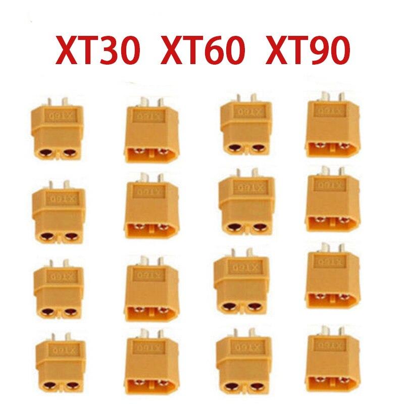 XT30 XT60 XT90 mâle femelle connecteurs de balle prise pour RC Lipo batterie en gros pour RC Lipo batterie quadrirotor Multicopter