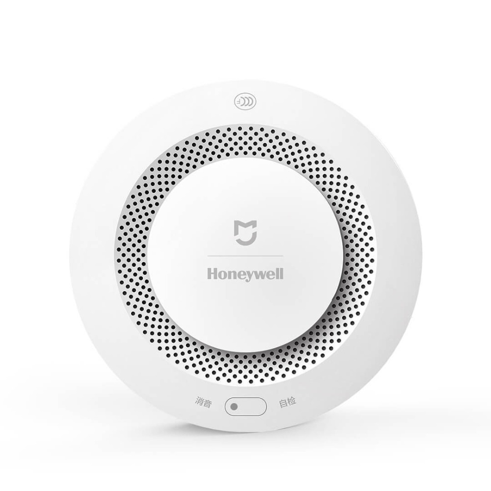 Original Xiaomi Mijia Honeywell Smoke Detector Fire Alarm Smart Home Remote Control Work With Gateway Audible Self Check  (1)