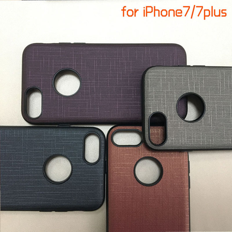 untuk kasus telepon IPhone7 pola kain kasus kulit fashion semua - Aksesori dan suku cadang ponsel - Foto 4