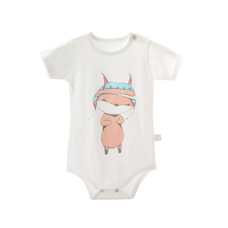 cBabe 1PCS/lot Fashion Baby Bodysuits Infant Jumpsuit Short Sleeve Baby Clothing Set Summer Christmas Baby Girl Clothes 3m6m9m24 mother nest 3sets lot wholesale autumn toddle girl long sleeve baby clothing one piece boys baby pajamas infant clothes rompers