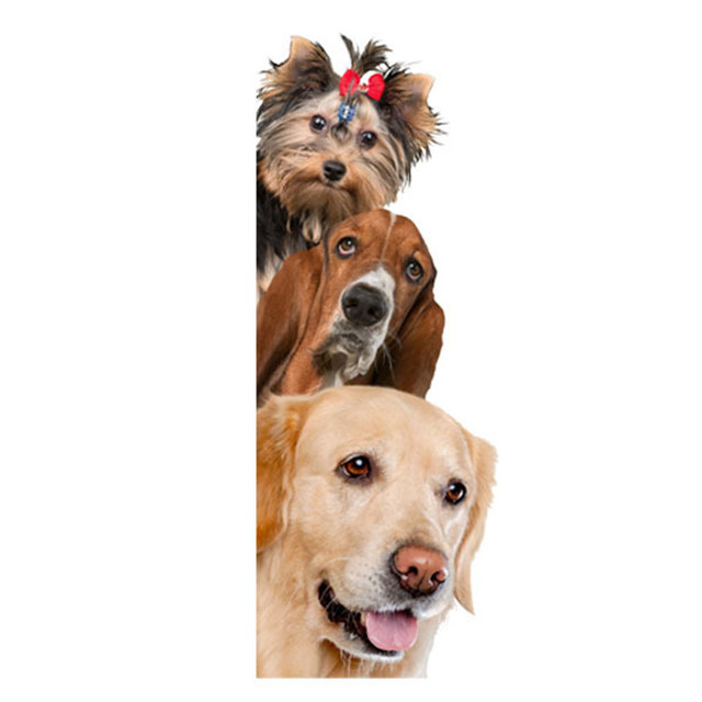 brixini.com - 3D Dogs & Cats Wall Stickers