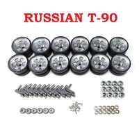 Henglong 3938 3938-1 russe T90 1/16 RC pièces de mise à niveau de réservoir roues en métal moyeu ensemble livraison gratuite