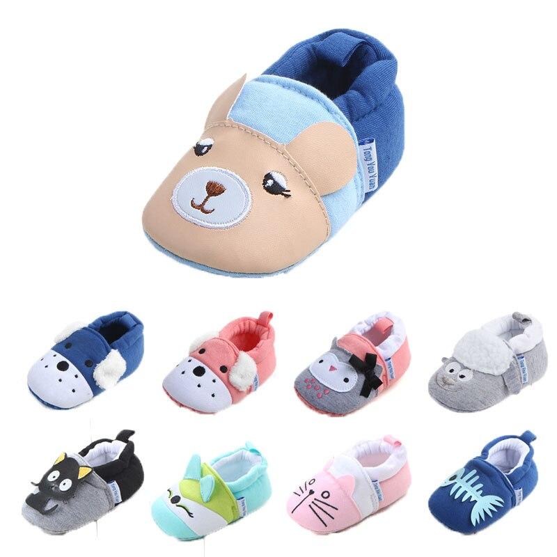 New Baby Cartoon Śliczne Buty Chłopięce Dziewczęce 0-18M - Buty dziecięce - Zdjęcie 2
