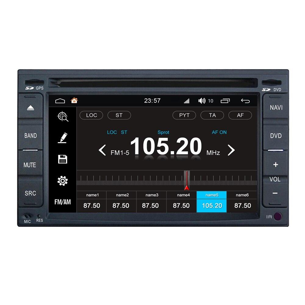 Lecteur multimédia d'autoradio Android 8.0 pour Nissan pour Dodge Trazo ensoleillé Juke Pathfinder Terrano Dualis Sylphy Bluebird Sentra