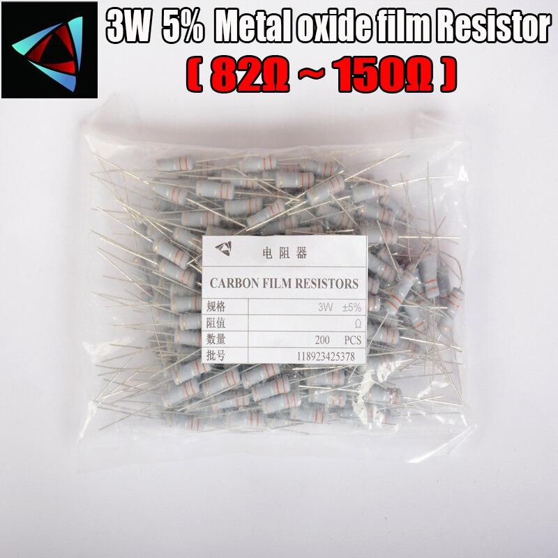 40pcs 2W 2K Ohm 5/% Metal Oxide Film Resistors 2 Watt