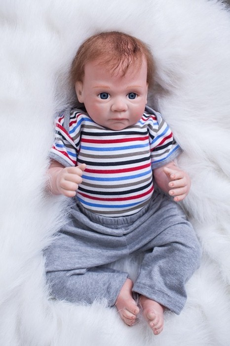 20 Silicone Reborn Baby Dolls Toy For Girls  boys gift  Newborn Babies Bedtime Toy Birthday Gift bebe alive bonecas reborn20 Silicone Reborn Baby Dolls Toy For Girls  boys gift  Newborn Babies Bedtime Toy Birthday Gift bebe alive bonecas reborn