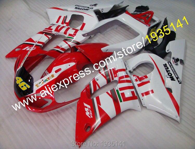 Offres spéciales, YZFR6 ABS carénage pour Yamaha carénages kit YZF R6 98 99 00 01 02 YZF-R6 pièces détachées moto (moulage par Injection)