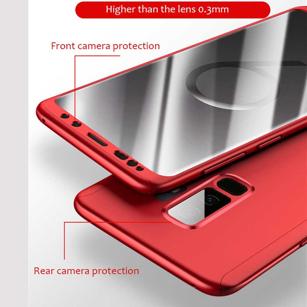 สำหรับ Samsung Galaxy A70 A50 A60 A10 A20 A30 A40 M10 M20 M30 A9 A7 A6 A8 J4 J6 j8 Plus Core 2018 360 โทรศัพท์กรณี