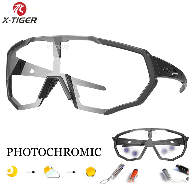 921181c3b6b X-TIGER 2019 Polarized Photochromic Cycling Glasses Outdoor Sports MTB  Bicycle Sunglasses Goggles Mountain Bike Cycling Eyewear
