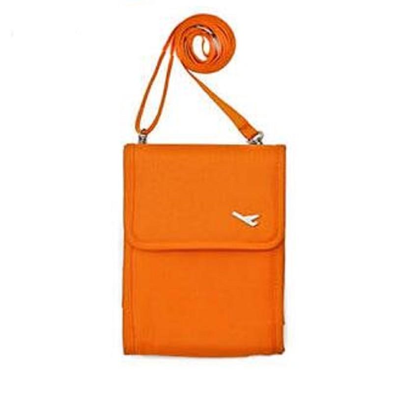 Canvas women men mutifunction travel Id card passport pouch mini messenger bag bolso bolsa feminina masculina for girls boys