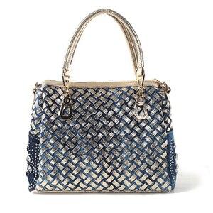 Image 4 - IPinee bolsos de mano con diamantes de cristal para mujer, bolsas de mano femeninas, estilo mensajero, de marca famosa
