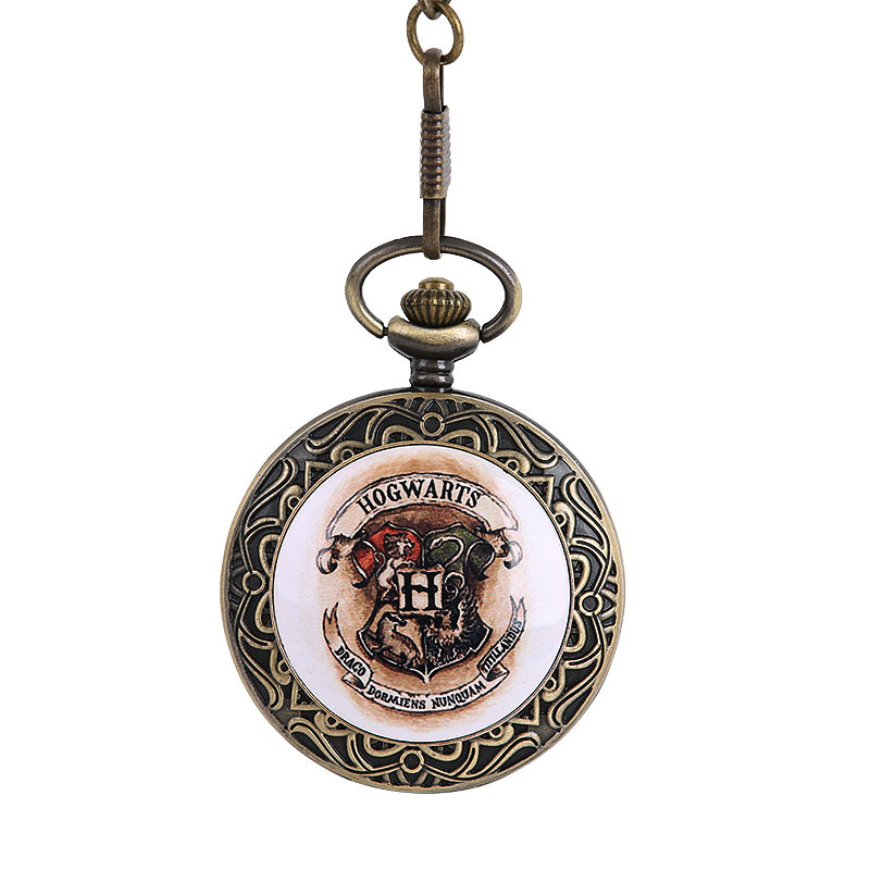 """""""H"""" Serise Pocket Watch Vintage Pocket Watch Withwaist Chain And Necklace Creative Gifts Five Style Are Available"""