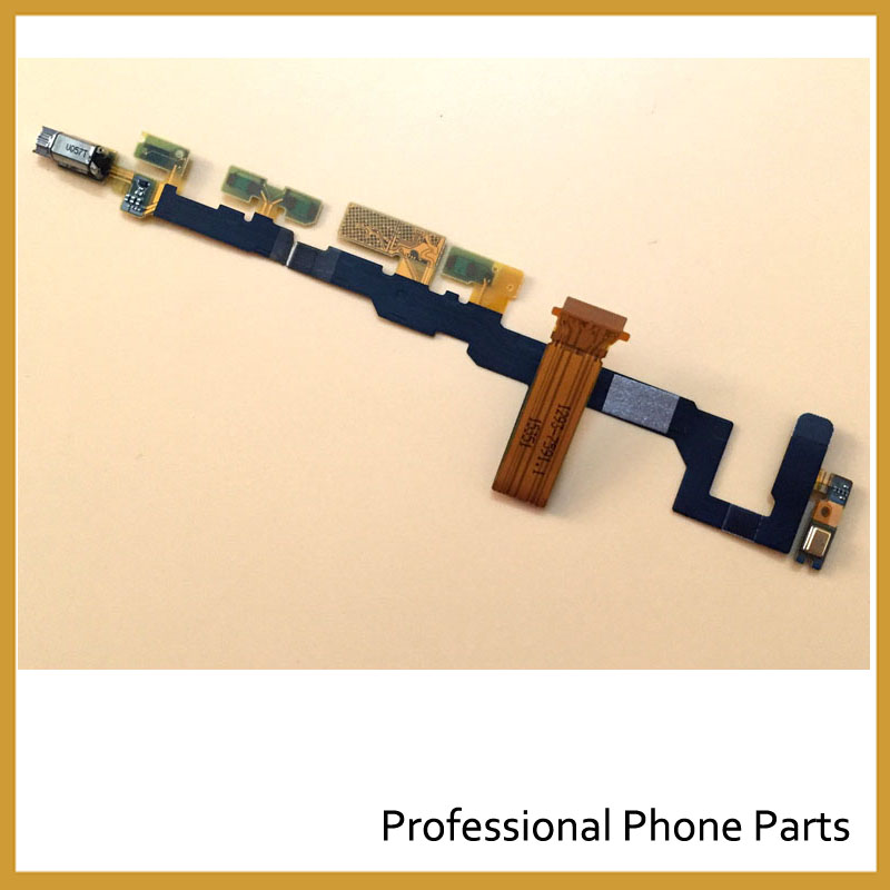 Original For <font><b>Sony</b></font> Xperia <font><b>Z5</b></font> Compact <font><b>Z5</b></font> Mini Power Volume Button <font><b>Motherboard</b></font> Flex With Vibrator Proximity Sensor Flex Cable image