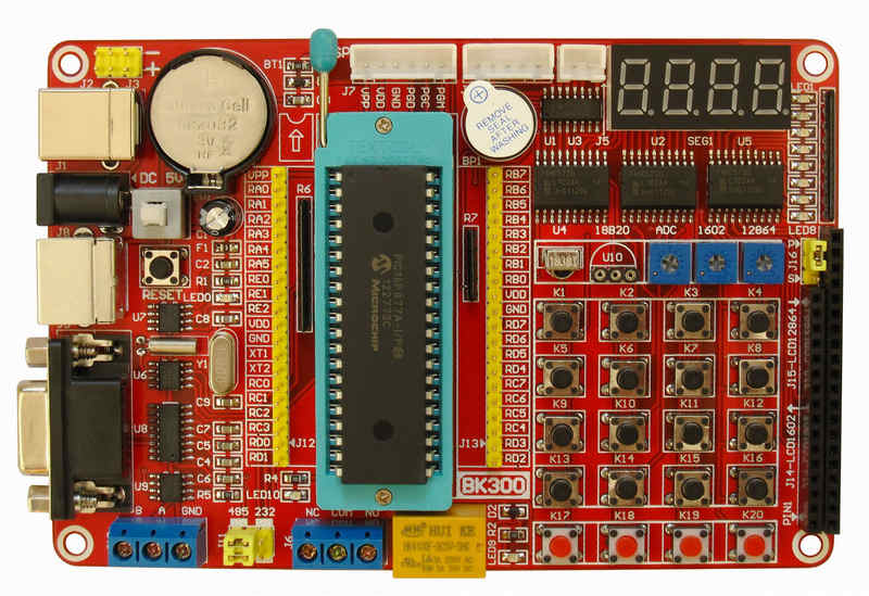 Tracking number PIC Development Board Kit + Microchip PIC16F877A an incremental graft parsing based program development environment