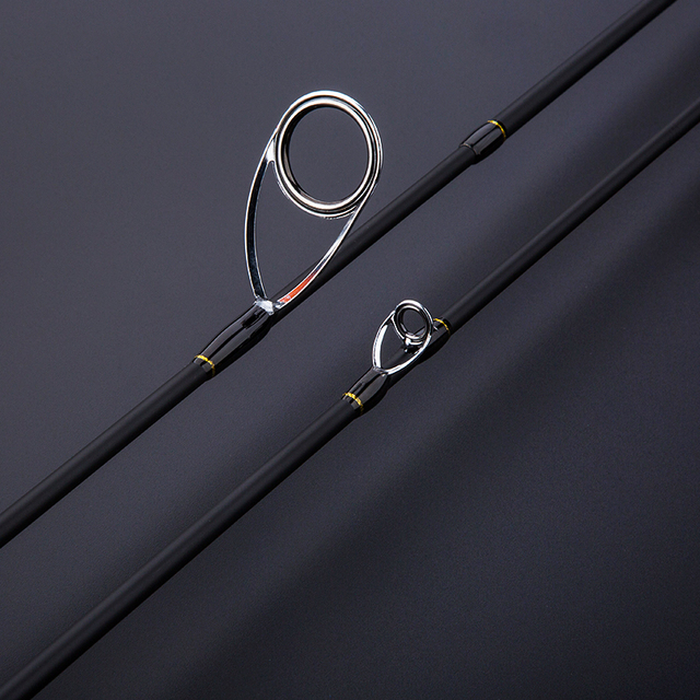 CU DOUBLE NEW 1.8m Lure Fishing Rod Fast Action UL/L Tips Carbon Spinning Rod Jigging Fishing rod 2 sections Fishing Tackle 3