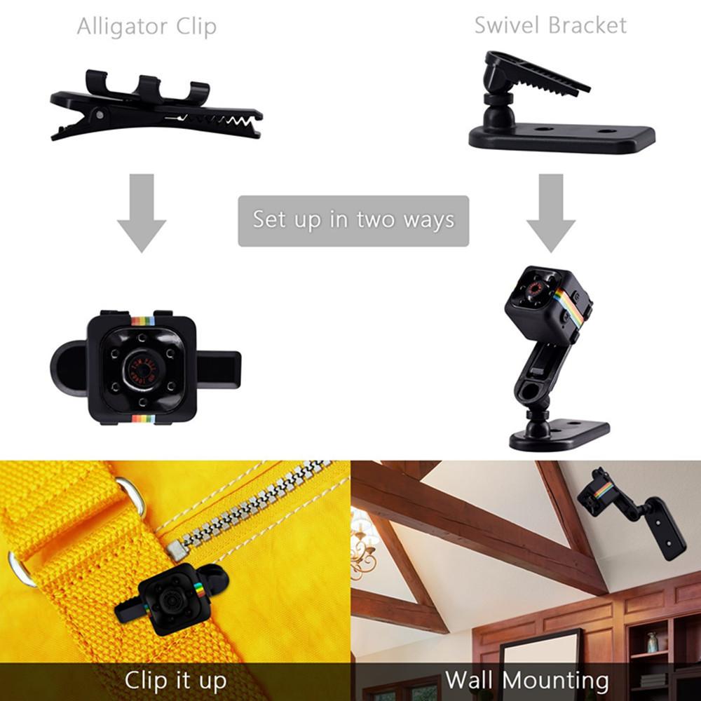 SQ11 mini cámara HD 960P 3