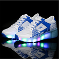 Children KIDS Sneaker With LED Lights and One Wheels Enfant  Running Skate Roller Shoes China Shop Online Stores