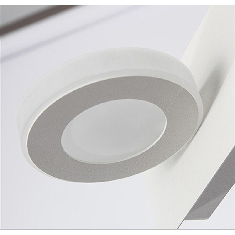 Bathroom Light Fixtures Led 10w Acrylic Round Bath Wall Lamp Mounted Mirror In Indoor Lamps From