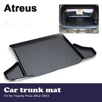 Atreus Car Accessories Waterproof Anti slip Trunk Mat Tray Floor Carpet Pad For Toyota Prius 2012 2013 2014 2015